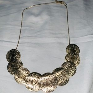 Gold finished necklace
